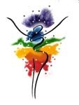 Lotus Chakra Logo (Small)