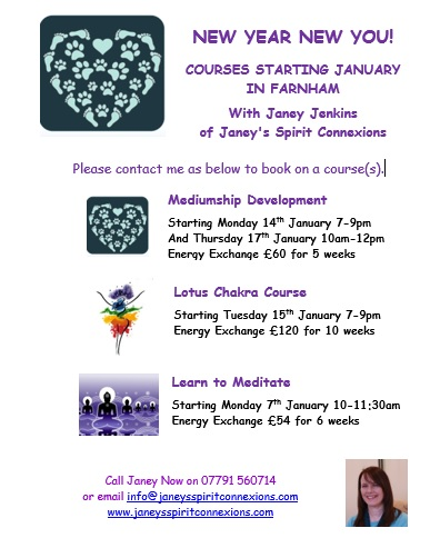 Courses Starting in January 2019