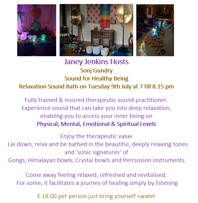 Relaxation Sound Bath