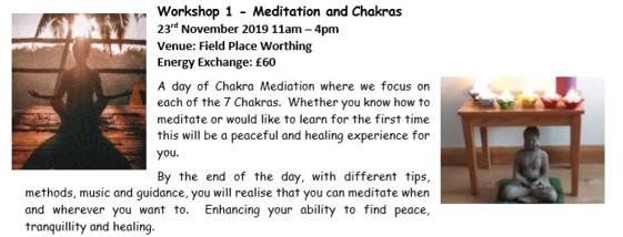 Meditation and Chakras Workshop Worthing Nov 19 (2)
